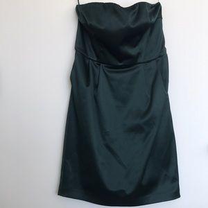 Hunter green women's express dress size 2
